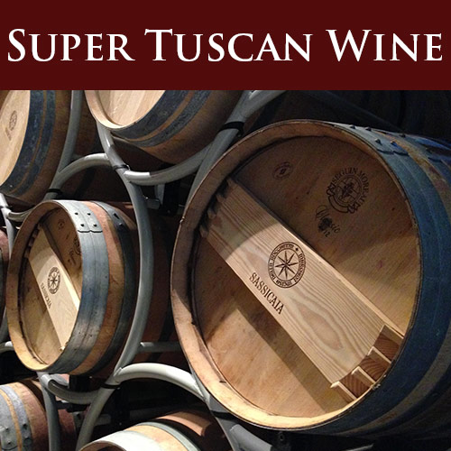 sassicaia super tuscan wine day trip